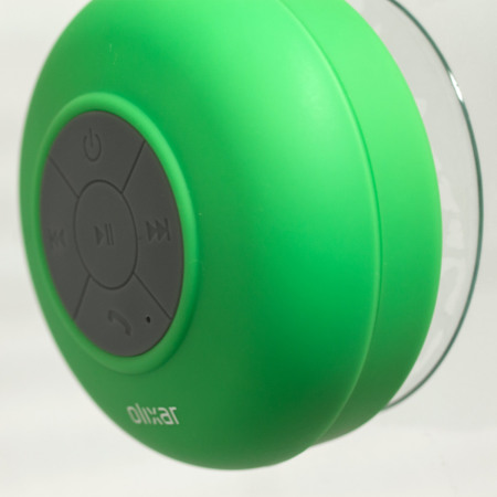 the aquafonik bluetooth shower speaker green 11 September 13, 2017