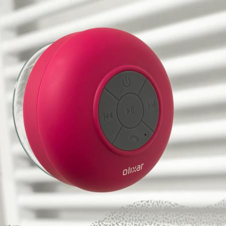 Coluna Olixar AquaFonik Bluetooth Shower - Rosa
