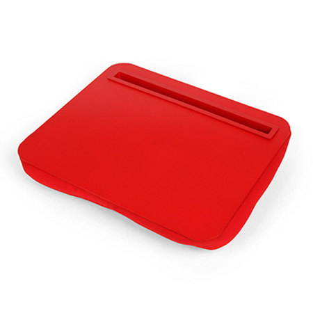 Kikkerland iBed Lap Desk for iPads and Tablets - Red