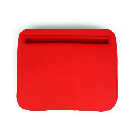 Supporto tablet da letto e vassoio per colazione kikkerland ibed rosso - Supporto per ipad da letto ...