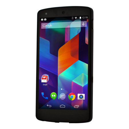 LG Official Nexus 5 Shell Case - Black