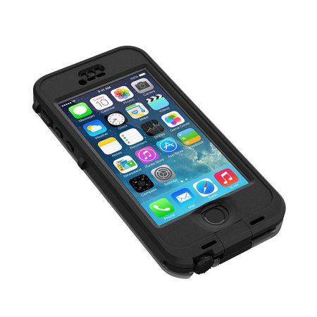 LifeProof Nuud Case for iPhone 5S - Black 2dfe56094156