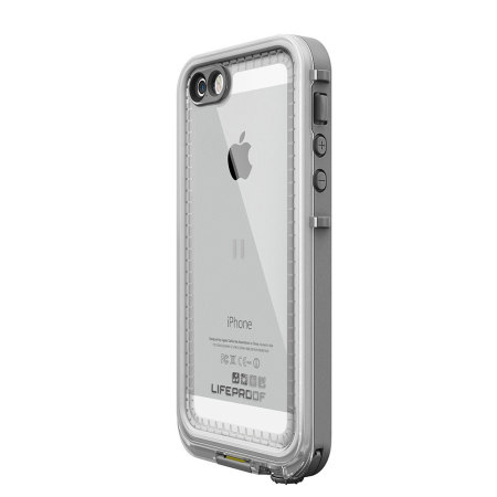 check out 32e96 29bac LifeProof Nuud Case for iPhone 5S - White / Grey