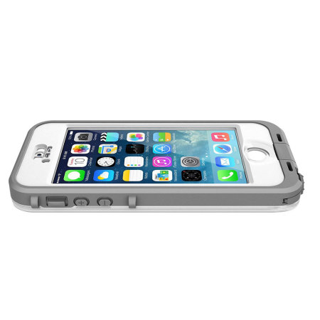 iphone 5s lifeproof cases lifeproof nuud for iphone 5s white grey 1524