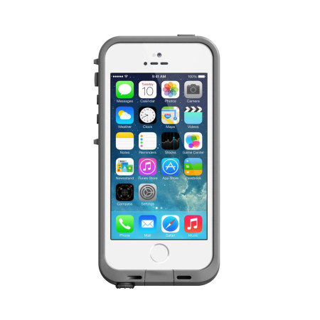 View larger image of lifeproof fre case for iphone 5s white grey