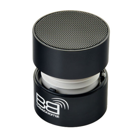 BassBoomz Portable Bluetooth Speaker - Black