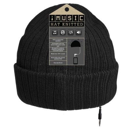 Bonnet iMusic Unisexe – Noir