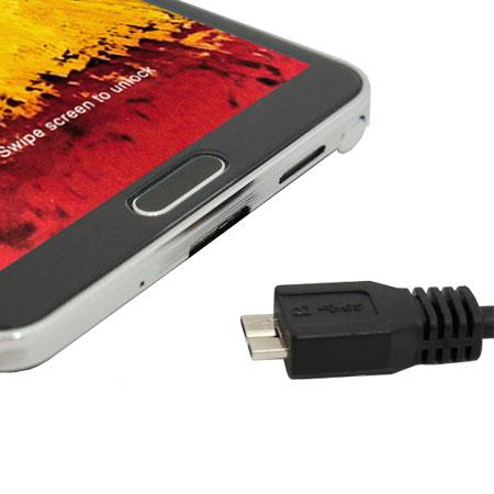 Cable de Charge et Synchronisation Micro USB 3.0 1.5m – Noire