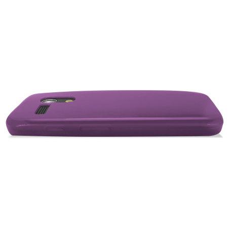 Flexishield Case for Moto G - Purple