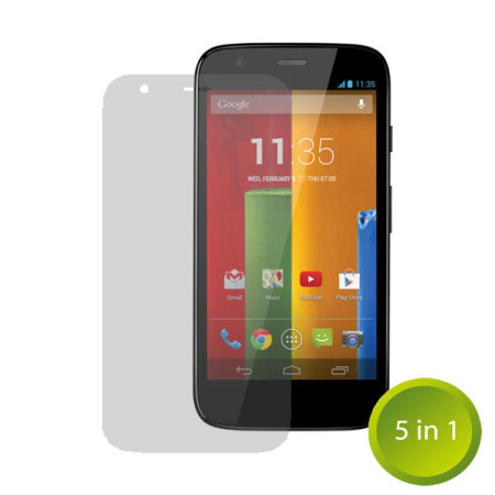 The Ultimate Moto G Accessory Pack - White