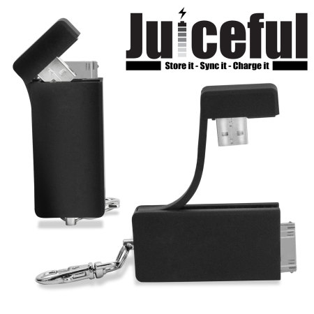 Juiceful 3-in-1 Key Chain for Apple 30-pin Devices