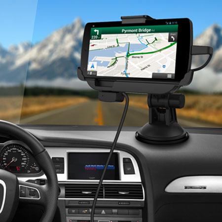 [MOBILEFUN.FR] Test Support voiture LG Google Nexus 5 avec Chargeur & Mains libres C