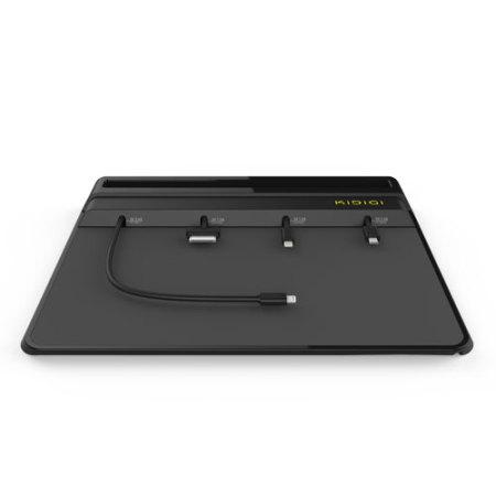 universal ladestation f r lightning micro usb und 30 pin mobilefun schweiz. Black Bedroom Furniture Sets. Home Design Ideas