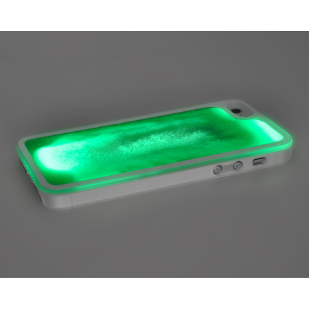iphone 5s glow in the dark case kuke glow in the sand for iphone 5s 5 green 20486