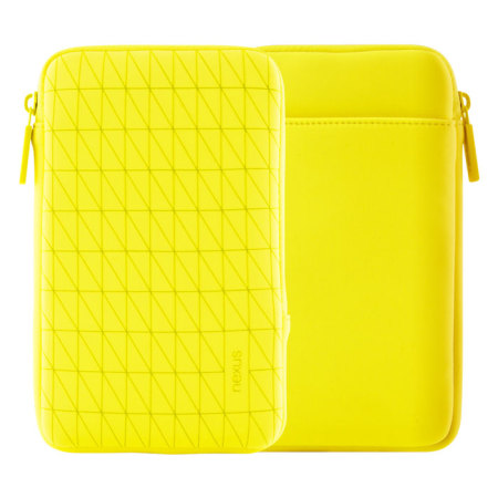 Official Nexus 7 2013 / 2012 Sleeve - Bright Yellow
