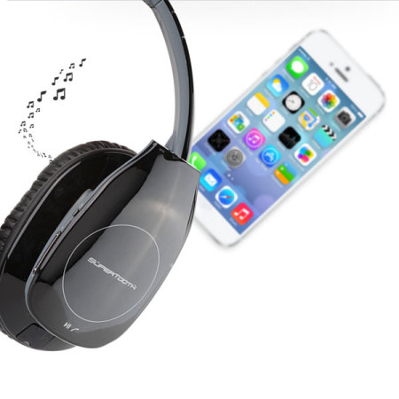 supertooth freedom stereo bluetooth headphones black reviews comments. Black Bedroom Furniture Sets. Home Design Ideas