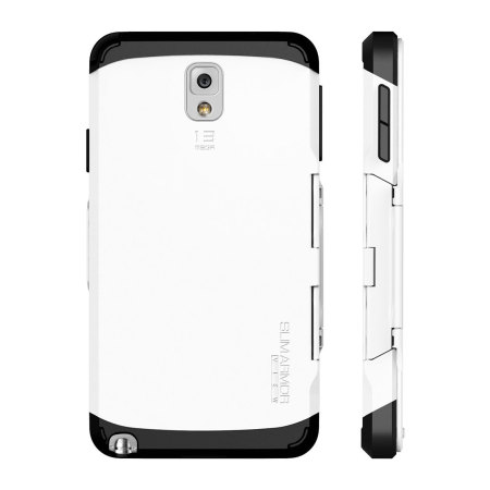 newest aada2 a927c Spigen Slim Armor View Case for Samsung Galaxy Note 3 - Smooth White