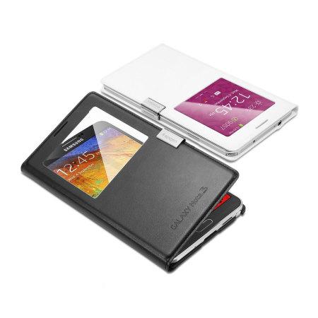 Spigen サムスン純正Galaxy Note 3 S-Viewカバー用 マグネットクリップ(シルバー)