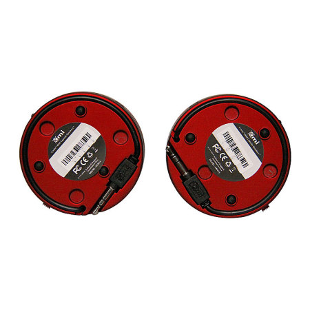 XMI X-Mini Max Duo Rechargeable Speaker - Red