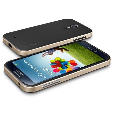Spigen SGP Neo Hybrid Case for Samsung Galaxy S4 - Champagne Gold