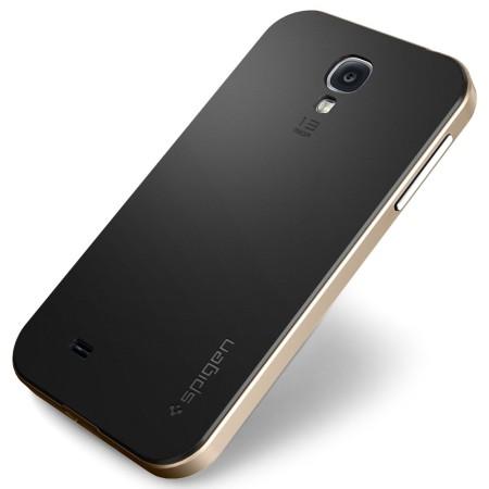 watch bc8db 206f3 Spigen SGP Neo Hybrid Case for Samsung Galaxy S4 - Champagne Gold