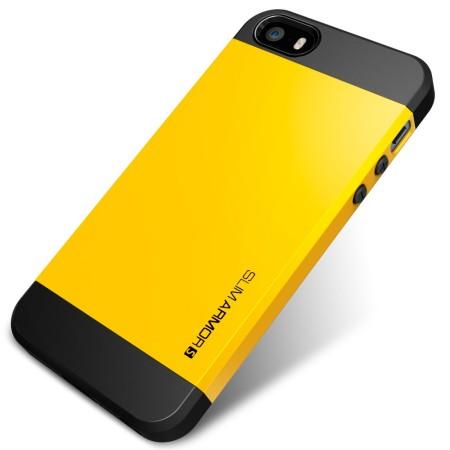 Spigen Slim Armor S Case for iPhone 5S / 5 - Yellow