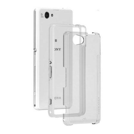 Coque Sony Xperia Z1 Compact Case-Mate Tough Naked - Transparente