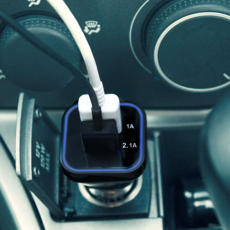 Olixar Dual USB Super Fast Car Charger - 3.1A
