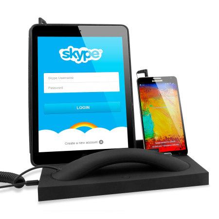 Desk Handset with Stand for Facetime, Skype and Mobile Calls