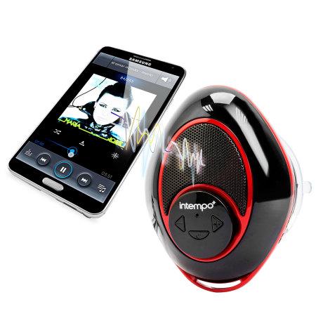 Intempo Bluetooth Badezimmer Lautsprecher In Schwarz Und .