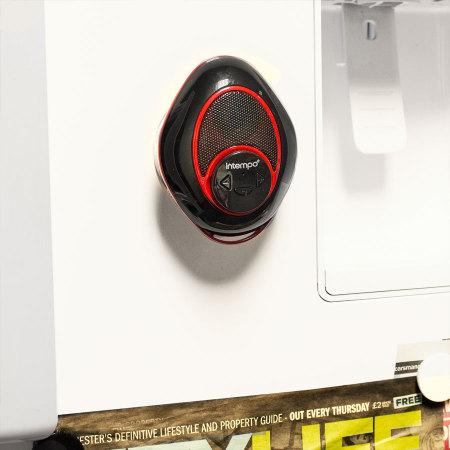 intempo bluetooth badezimmer lautsprecher in schwarz und. Black Bedroom Furniture Sets. Home Design Ideas