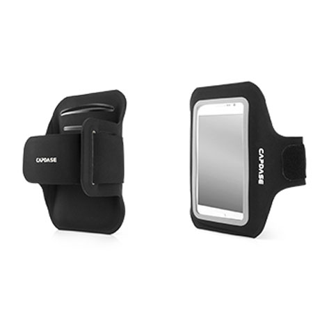 Capdase Zonic Plus Sport ArmBand 145A for Smartphones - Black / Grey