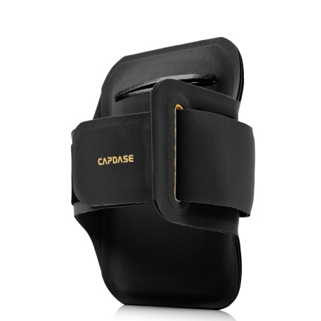 Capdase Sport ArmBand Zonic Plus 145A for Smartphones - Black / Yellow