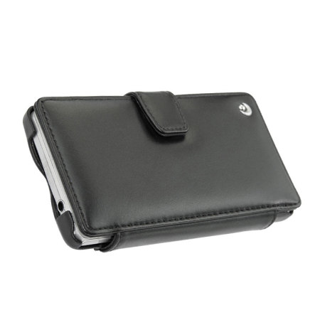 Noreve Tradition B Leather Case for Xperia Z1 Compact  - Black