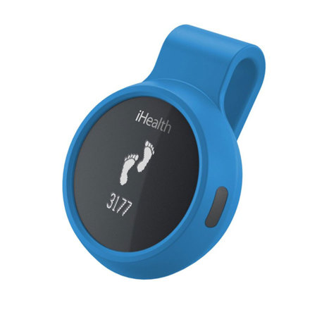 iHealth Wireless Activity and Sleep Tracker with Watch and Belt Clips