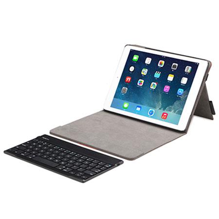 rock bluetooth keyboard case for ipad air coffee
