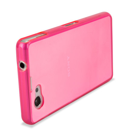 Flexishield Case for Sony Xperia Z1 Compact - Pink