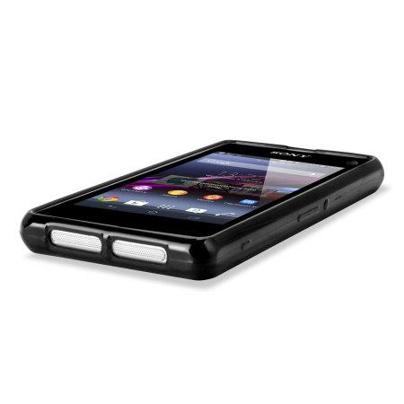 Flexishield Case for Sony Xperia Z1 Compact - Smoke Black