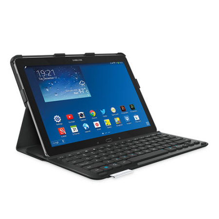 logitech pro keyboard case for galaxy note pro 12 2 tab. Black Bedroom Furniture Sets. Home Design Ideas