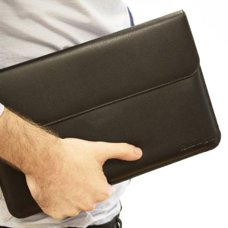 Housse Cuir Microsoft Surface 2 Snugg - Noire