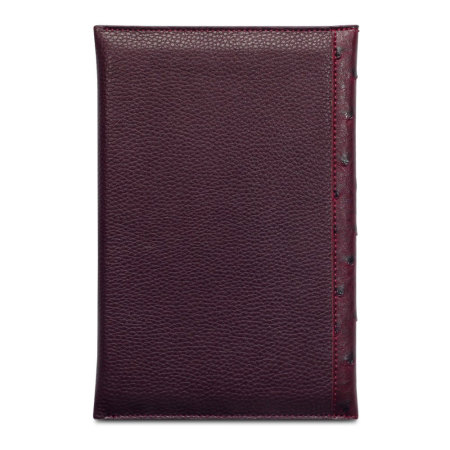 Covert Suki iPad Mini 3 / 2 / 1 Leather Style Purse Case - Maroon