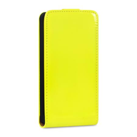 Housse Nokia Lumia 525/520 Adarga Simili Cuir – Jaune