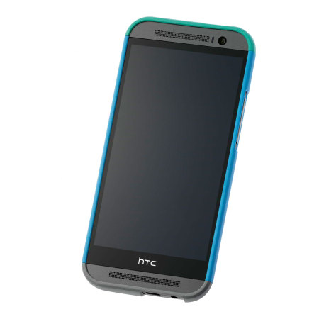 Official HTC One M8 Double Dip Hard Shell - Blue and Green