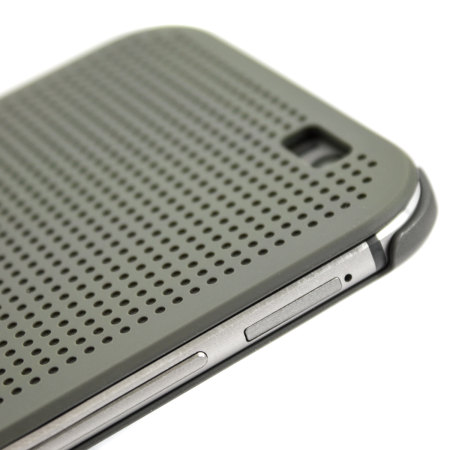 official htc one m8 m8s dot view case grey confirms worst concern