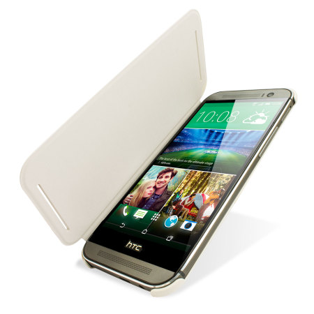 ended official htc one m8 flip case white Neil