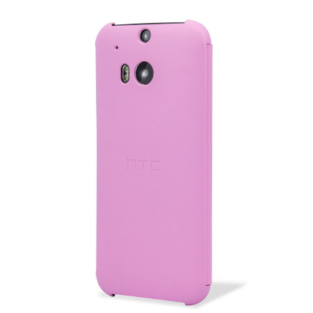 Official HTC One M8 / M8s Flip Case - Pink