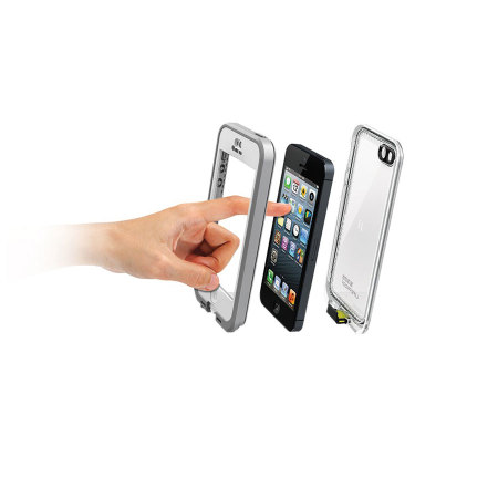 LifeProof Nuud Case for iPhone 5 - White