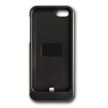 Coque / Adaptateur Qi pour iPhone 5S / 5 – Noire