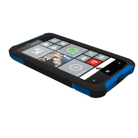 buy online edc9f d4dc6 Trident Aegis Nokia Lumia 525 / 520 Protective Case - Blue