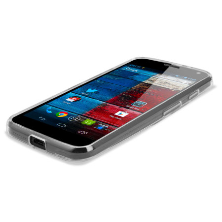 FlexiShield Case for Motorola Moto X - 100% Clear